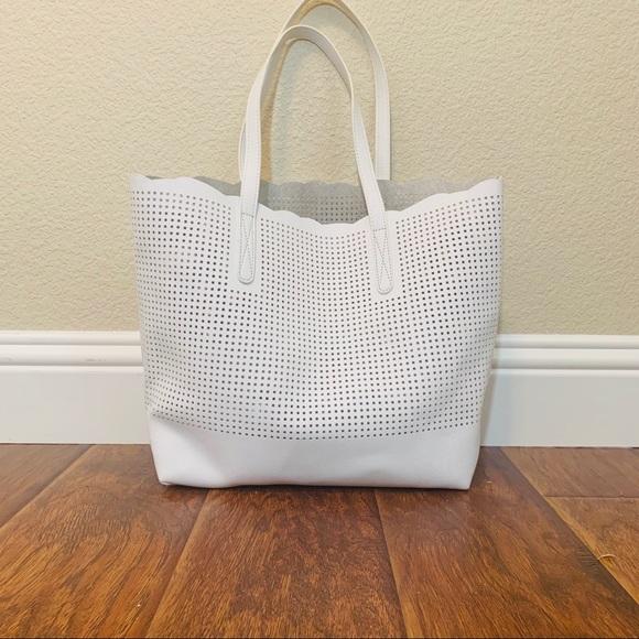 Neiman Marcus Handbags - Neiman Marcus Perforated Tote